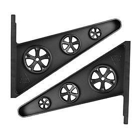 Skateboard Rack, 1Pair/3Pairs Long Board Wall Storage Mount, Home Room Garage for Skateboard Decks Completes Other Tools