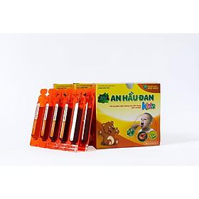 Ống Uống An Hầu Đan Kids - Dành Cho Trẻ Bị Viêm Họng, Amidan Hộp 10 Ống