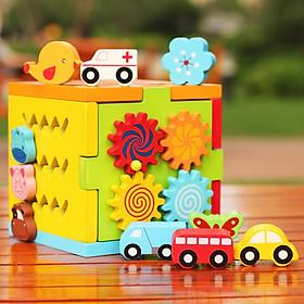 Chiếc hộp diệu kỳ bằng gỗ