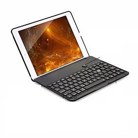 Ốp lưng bàn phím Bluetooth với 7 màu đèn nền dành cho iPad mini 1/2/3, mini 4, ipad air, ipad air 2, ipad 2017, ipad 2018, ipad Pro 9.7, ipad 2/3/4.