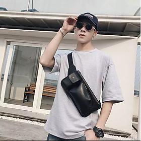 Túi đeo chéo dành cho nam da pu cao cấp thời trang phong cách