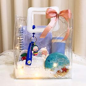 Quà LuvGift Happy Everyday - Túi quà trong suốt Luv81 quà tặng 8/3, sinh nhật, Giáng sinh