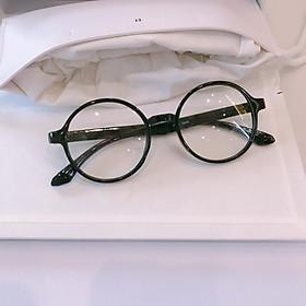 Kính gọng mắt tròn Nobita nhựa dẻo