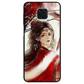 Ốp lưng dành cho Xiaomi Redmi 9s - 9 Pro - 9 Promax mẫu Cô Gái Áo Choàng