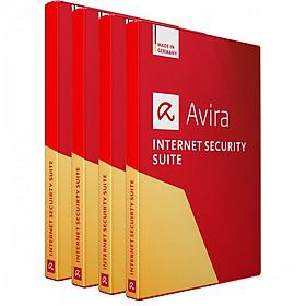 Combo 4 Phần Mềm Diệt Virus Avira Internet Security Suite