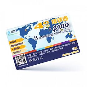 Sim 4G Du Lịch Trung Quốc 8 Ngày Không Giới Hạn Dung Lượng