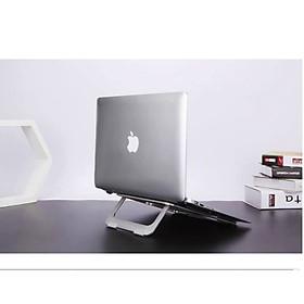 Giá đỡ, kệ đỡ laptop, macbook, máy tính bằng hợp kim nhôm thông minh gấp gọn