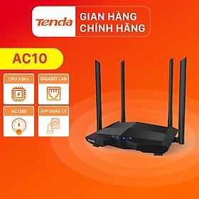 Tenda Thiết bị phát Wifi AC10 Chuẩn AC 1200Mbps - Hàng Chính Hãng
