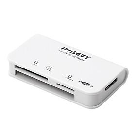 Đầu Đọc Thẻ Đa Năng Pisen Ts-E081 All-In-One USB 3.0 - Hàng Nhập Khẩu