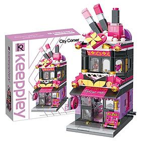 Đồ chơi lắp ráp Cửa hàng mỹ phẩm Qman C0103 (348 chi tiết)