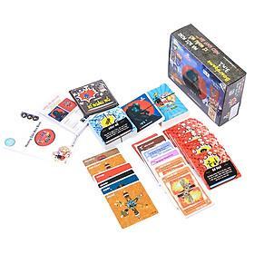 Boardgame 3in1 LHT Ma Sói - Mèo Boom - Xí Ngầu Lắc