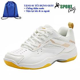 Giày cầu lông kawasaki K086 chính hãng dành cho cả nam và nữ, chuyên nghiệp chống trơn trượt- tặng túi rút thể thao tiện ích