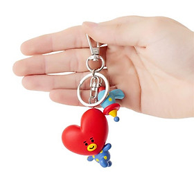 BTS BT21 Official Authentic Goods Figure Keyring Mini