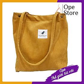 Túi đeo vai cho nữ, Túi phong cách Hàn Quốc chất vải nhung