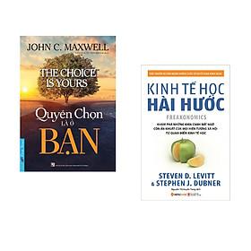 Combo 2 cuốn sách: Quyền Chọn Là Ở Bạn + Kinh tế học hài hước