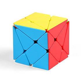 Axis Magic Puzzle Cube Puzzle Speed Cube Adult Kids Educational Challenging Toy Gift - Color