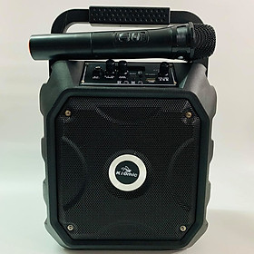 Loa Karaoke Bluetooth Kiomic K68 Siêu Hay Kèm 1 Micro không dây hàng chính hãng