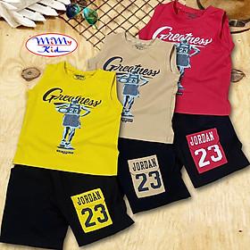 Combo 3 bộ quần áo bé trai vải cotton 4 chiều in họa tiết thể thao JD MIMYKID cho bé từ 8kg đến 35kg ( Giao màu ngẫu nhiên )