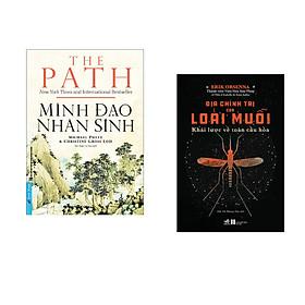 Combo 2 cuốn sách:  Minh Đạo Nhân Sinh + Địa chính trị của loài muỗi - Khái lược về toàn cầu hóa