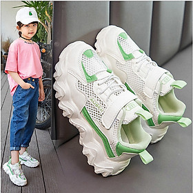 giày thể thao cho bé gái êm chân phong cách hè thoáng mát - TT59