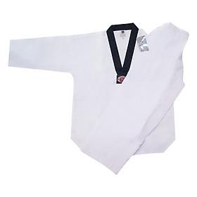 Võ Phục Taekwondo Vải Kim Cương Black Eagle Tân Việt DPVTTAECDKCBE