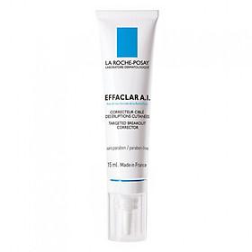 Kem Giảm Mụn Chuyên Biệt La Roche-Posay Effaclar Effaclar A.I. (15ml) - M9097200 - 100768025