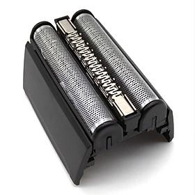 Shaver Foil Cutter H-ead Cassette Compatible with B-raun 52B Series 5 5050 5070 5090 5040 5020 (S-ilver)