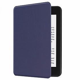 Bao Da Cover Cho Máy Đọc Sách Kindle Paperwhite Gen 4 10th 2019 Vân Da