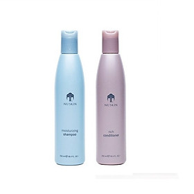 Bộ Dầu Gội Xả Nuskin Moisturizing Shampoo - 250ml + Nuskin Rich Conditioner - 250ml