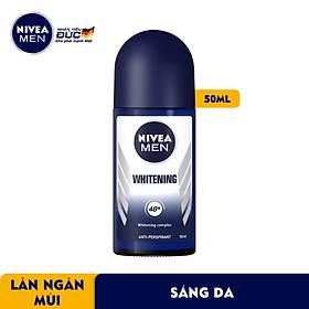 Lăn Ngăn Mùi NIVEA MEN Whitening Sáng Da (50ml) - 83748
