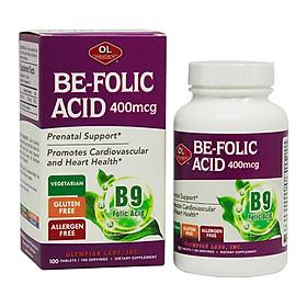Thực phẩm chức năng Be Folic Acid - Bổ sung axit folic cho bà bầu
