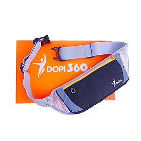 Túi đeo hông đeo bụng chạy bộ DOPI360 chống nước, dây đeo thoáng khí DOPI2202