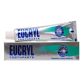 Kem đánh răng tẩy trắng Eucryl 62g - Chính hãng