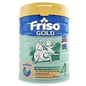 Sữa Bột Friso Gold 4 Cho Trẻ Từ 2-4 Tuổi 400g
