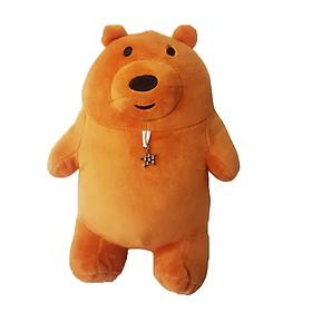 Hình đại diện sản phẩm Gấu bông gấu đeo sao lấp lánh - Màu Nâu