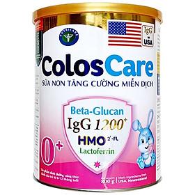 Sữa bột Nutricare ColosCare 0+ - sữa non tăng cường miễn dịch (800g)