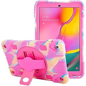 Ốp Lưng Silicone Cao Cấp Xoay 360 Dành Cho Máy Tính Bảng Samsung Galaxy Tab A 10.1 (2019) T510 / T515