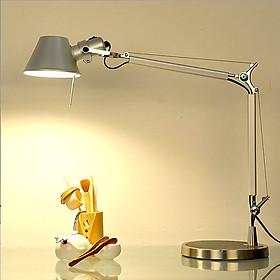 Đèn để bàn - đèn bàn làm việc - đèn bàn học - đèn đọc sách inox cao cấp ICHI LAMP kèm bóng LED chống lóa cận