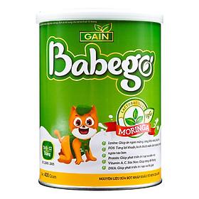 Sữa tăng cân, tiêu hóa khỏe Babego 0 – 12 tháng, 400G