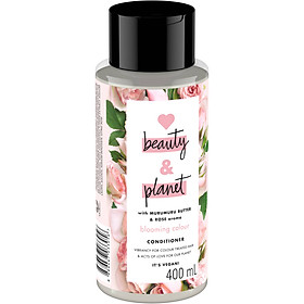 Dầu Xả Cho Tóc Nhuộm Love Beauty And Planet Blooming Colour 400ml