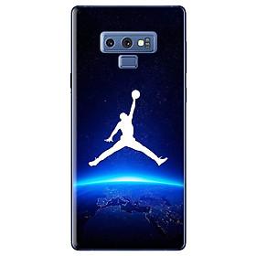 Ốp Lưng Dành Cho Samsung Galaxy Note 9 - Jordan Nền Xanh Đen