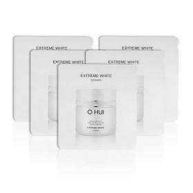 Bộ 5 gói Tinh chất dưỡng sáng da OHUI Extreme White Serum 1ml/gói-Gimmick