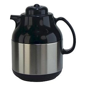 Bình pha trà giữ nhiệt Rạng Đông Inox có phím lọc trà 1 lít