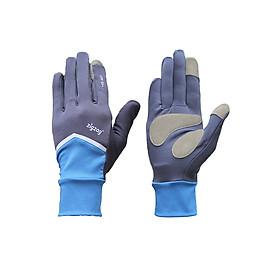 Găng tay Nonstop chống nắng UPF50+ xanh đen Zigzag GLV01002