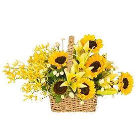 Giỏ hoa tươi - Thật tuyệt vời 3985