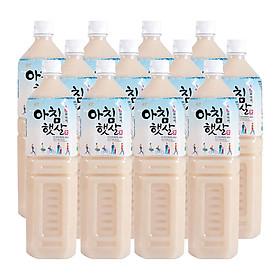 Nước Gạo Rang Nhập Khẩu Hàn Quốc WoongJin A Chim Haet  (1,5L) - thùng