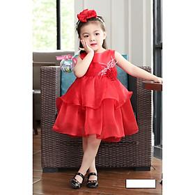 Váy đầm công chúa dự tiệc cho bé gái DBG047 từ 1 2 3 4 5 6 7 8 9 10 tuổi nặng 8 đến 10 15 20 25 30 33 kg