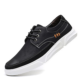 Men's casual extra large size fashion soft sole sneakers breathable wear-resistant microfiber shoes
