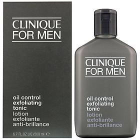 Nước Thanh Tẩy Kiềm Dầu Cho Nam Clinique For Men Oil Control Exfoliating Tonic Lotion 200ml