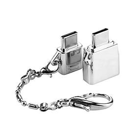 Đầu Chuyển USB Sang Type-C & Micro Sang Type-C Với Móc Khóa